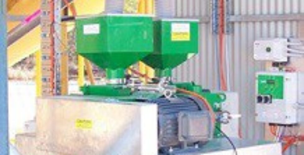 Twin roller Mill