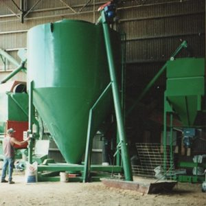 large commercial feed mill